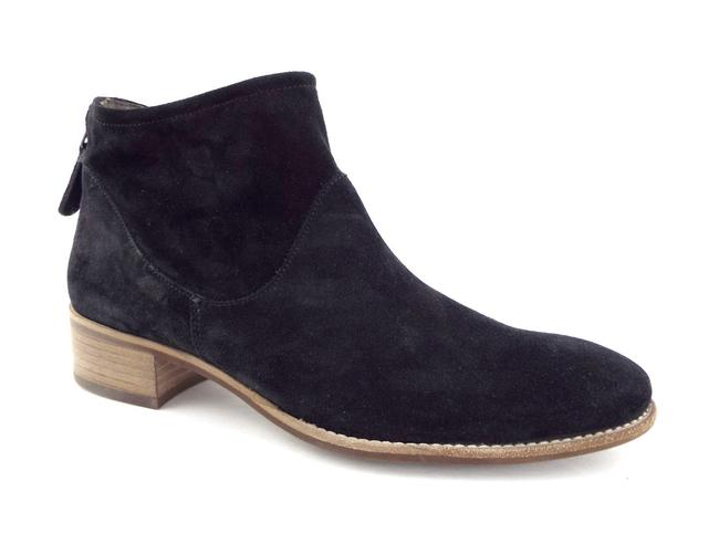 Paul Green Black Suede Leather Block-heel Ankle Boots/Booties Size US 6 Regular (M, B) Paul Green Black Suede Leather Block-heel Ankle Boots/Booties Size US 6 Regular (M, B) Image 1