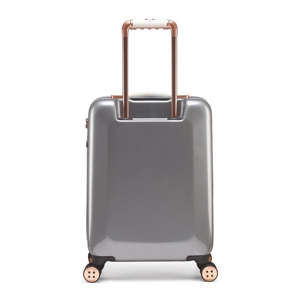 0c7bfb383f88 Ted Baker Mirrored Mineral Suitcase Trolley Designer Luggage Tsa Lock Hard  Cover Grey Travel Bag Image. 12345. 1 ∕ 5