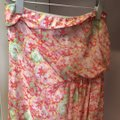 Pink floral Maxi Dress by Zara Image 1