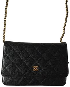 Chanel Woc Classic Caviar Cross Body Bag