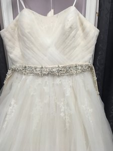 Mori Lee Ivory Tulle 1959 Formal Wedding Dress Size 18 (XL, Plus 0x)