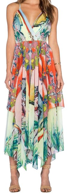 Item - Multicolor Lola Lady Long Night Out Dress Size 2 (XS)
