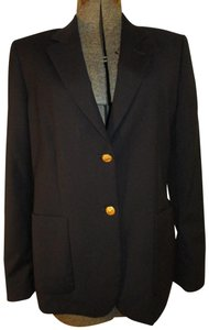Brooks Brothers Classic Wool Tailored 001 black Blazer