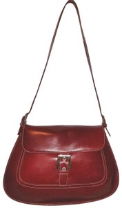 A. Giannetti Nwot Leather Lined Shoulder Bag