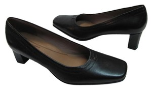 Easy Spirit Leather Size 7m BLACK Pumps