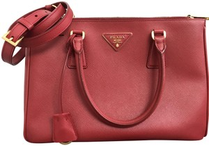 4c9435747f4d0f Prada Tote in Red / Fucco - item med img. Prada. Double Lux Bn1801 Red /  Fucco Saffiano Leather Tote