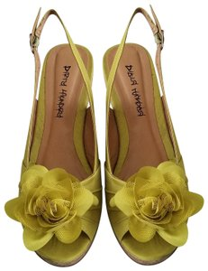Dirty Laundry Party Wedding Comfortable Yellow Wedges