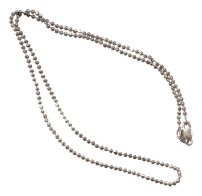 Item - Silver Ball Chain Necklace