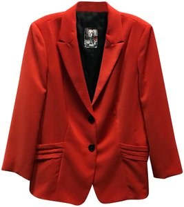 Apriori Jacket Red Orange Blazer