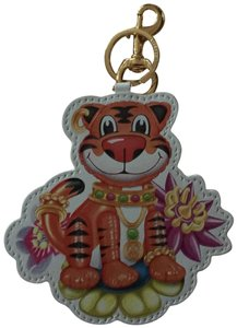 Moschino TIGER BAG CHARM KEY FOB