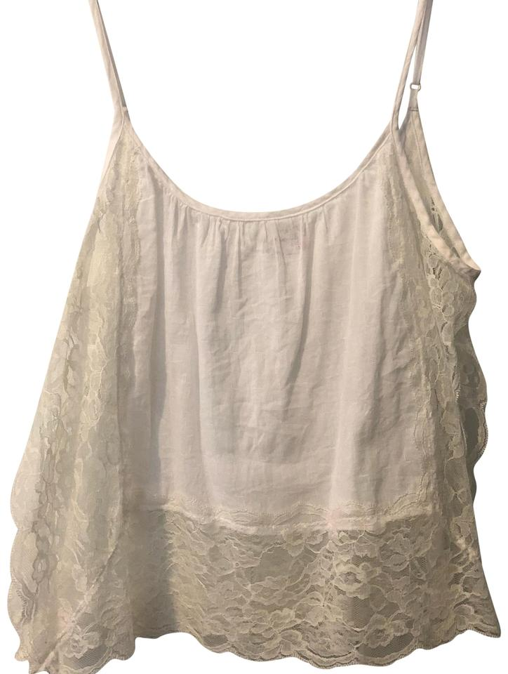 e704804239 Free People White Lace Camisole Xs Tank Top Cami Size 2 (XS) - Tradesy