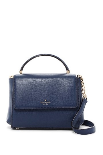 Preload https://img-static.tradesy.com/item/23274565/kate-spade-shirley-blue-leather-satchel-0-0-540-540.jpg