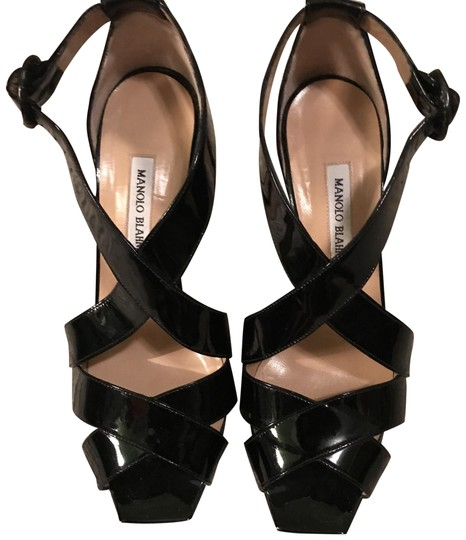 Preload https://img-static.tradesy.com/item/23274748/manolo-blahnik-black-patent-cross-cross-heels-pumps-size-us-105-regular-m-b-0-1-540-540.jpg