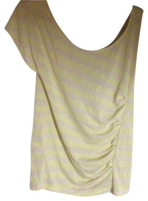 Preload https://item5.tradesy.com/images/bcbgeneration-yellow-and-tan-tunic-size-8-m-2327539-0-0.jpg?width=400&height=650