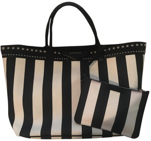 Givenchy Tote in black and white stripe