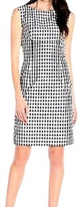 Anne Klein Gingham Sheath Dress