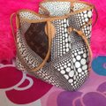 Louis Vuitton Sold Out Collectors Limited Edition Rare Neverfull Tote in White Pumpkin Dots Monogram Image 3