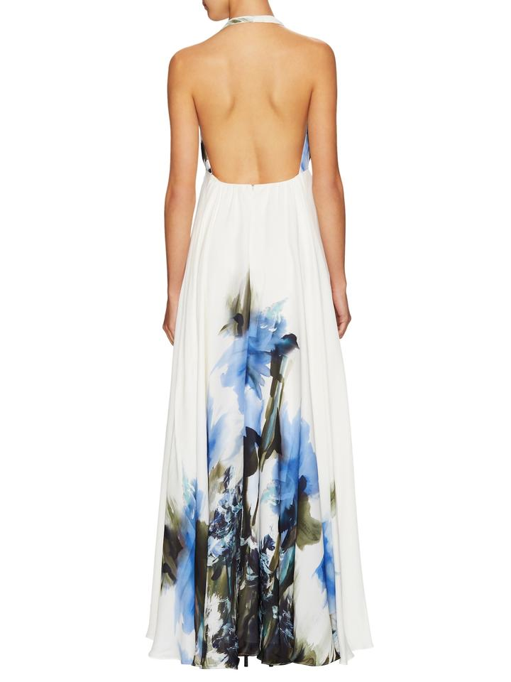 MILLY White Georgina Long Casual Maxi Dress Size 6 (S) - Tradesy