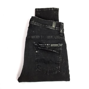 7 For All Mankind Skinny Jeans-Acid