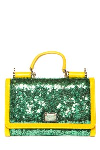 Dolce&Gabbana Green and Yellow Clutch