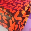 Louis Vuitton Limited Edition Sold Out Rare Neverfull Tote in Neon Orange Monogram Collectors Image 5