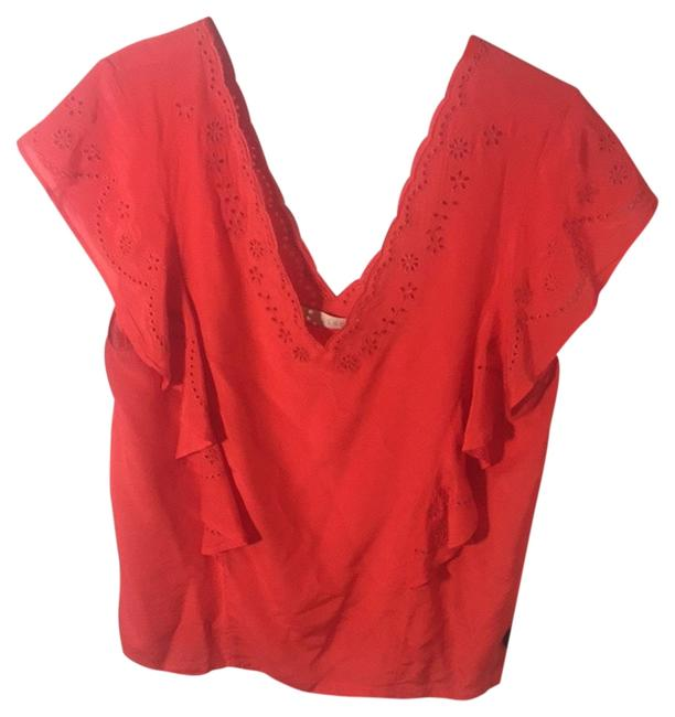 Preload https://item5.tradesy.com/images/hinge-coral-blouse-size-10-m-2327704-0-0.jpg?width=400&height=650