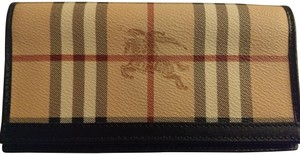 Burberry Haymarket check wallett