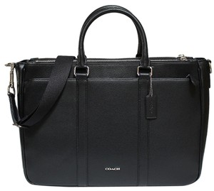 Coach Leather Business Business Brief Exclusive Scratch Resistant Laptop Bag