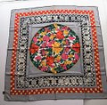 Givenchy GIVENCHY Multi 100% Silk Twill Floral Geometric Motif Scarf Image 2