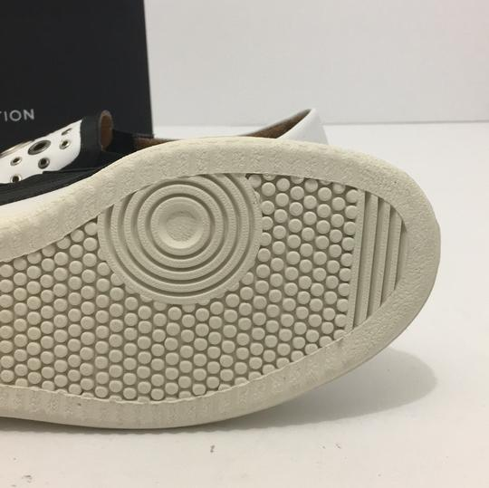 Thakoon Addition Loafers Leather Size 10 White / Black Flats Image 8