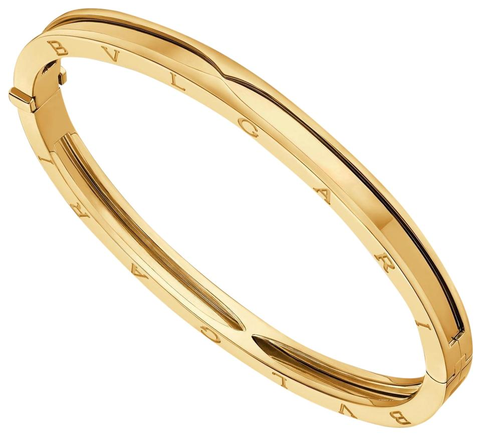 Bvlgari Yellow Gold B Zero1 18k Bangle Bracelet
