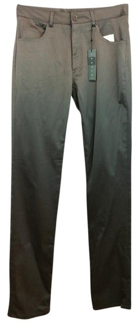 Theory Straight Pants Gray Image 2