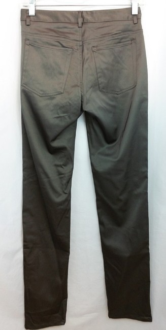 Theory Straight Pants Gray Image 3