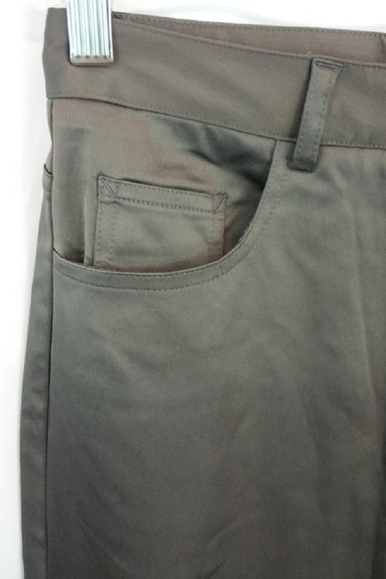 Theory Straight Pants Gray Image 5