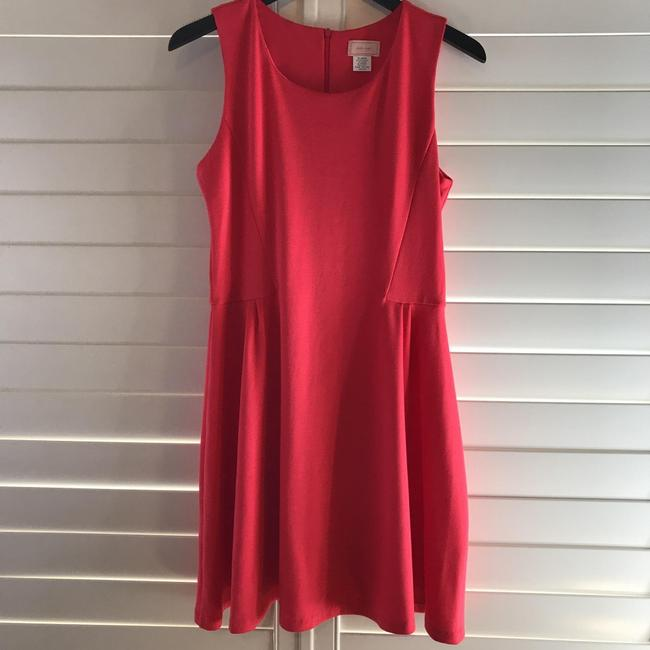 Preload https://img-static.tradesy.com/item/23277639/love-ady-coral-fit-and-flare-short-casual-dress-size-16-xl-plus-0x-0-1-650-650.jpg