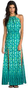 Cheveron Maxi Dress by Lovers + Friends
