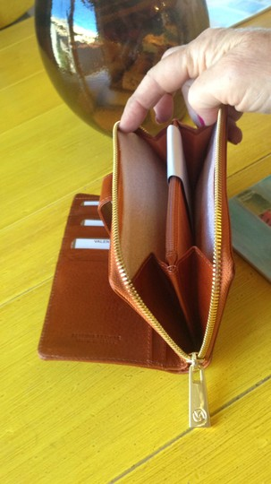 Valentina Made in Italy -Leather Wallet Image 5