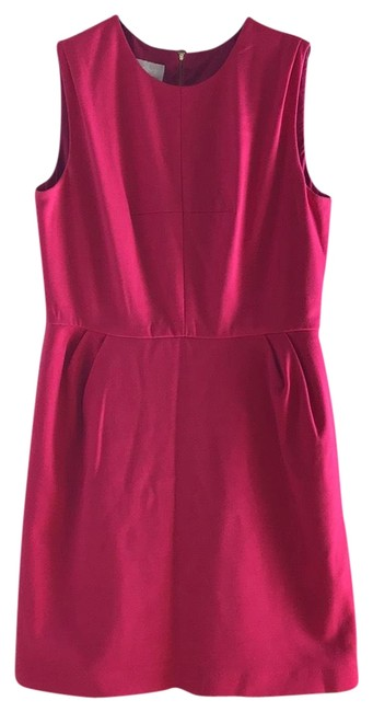 Preload https://img-static.tradesy.com/item/23277950/donna-morgan-pink-sheath-mid-length-short-casual-dress-size-14-l-0-1-650-650.jpg