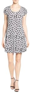 MICHAEL Michael Kors short dress Print Cap Sleeve A-line on Tradesy