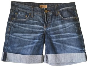 See Thru Soul Cuffed Shorts blue