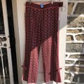 Ts Dixin Flare Pants pink and brown Image 1