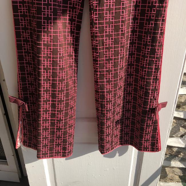 Ts Dixin Flare Pants pink and brown Image 2