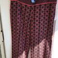 Ts Dixin Flare Pants pink and brown Image 3