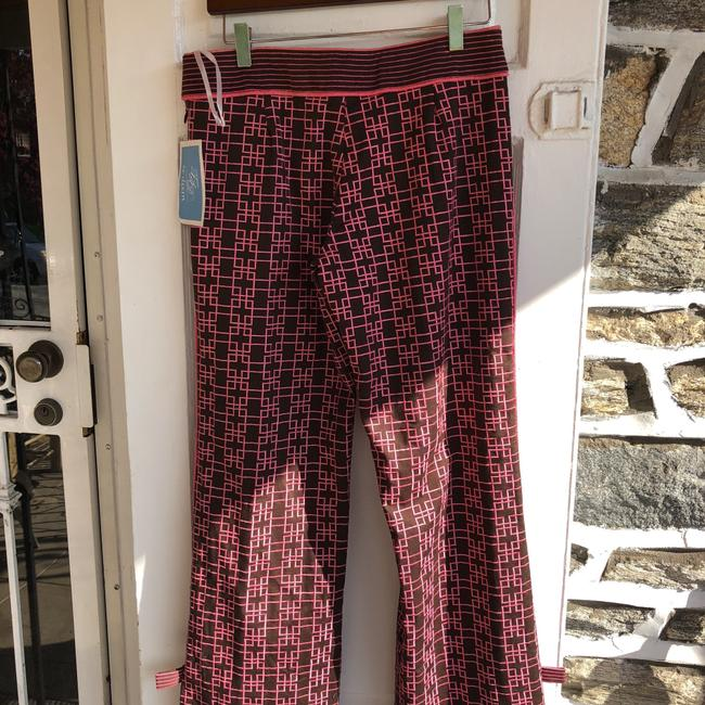 Ts Dixin Flare Pants pink and brown Image 4