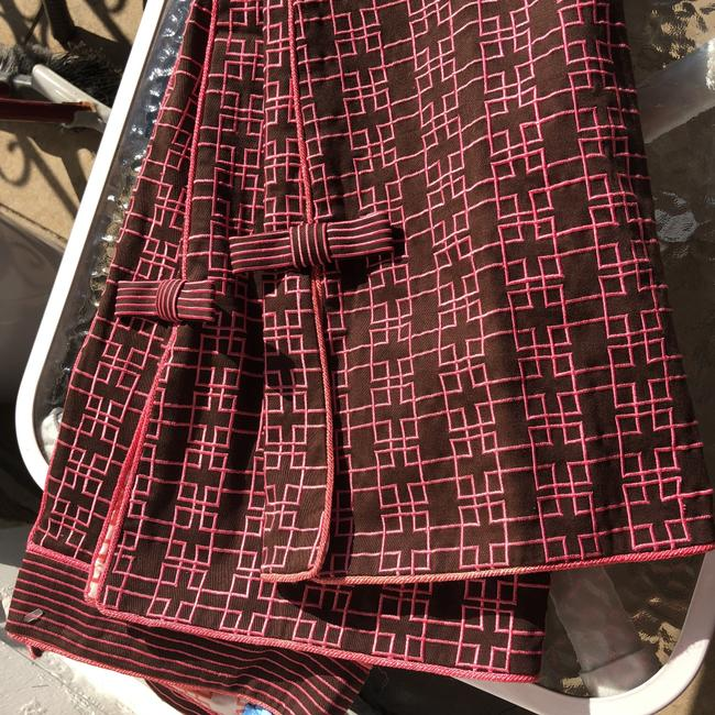 Ts Dixin Flare Pants pink and brown Image 7