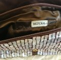 Moyna white and brown Clutch Image 3