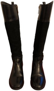 635b617d13ac3c ... New Linnett Leather Wedge Knee High Women s Boots Booties.  189.50   399.00. US 6.5. Tory Burch Black Boots