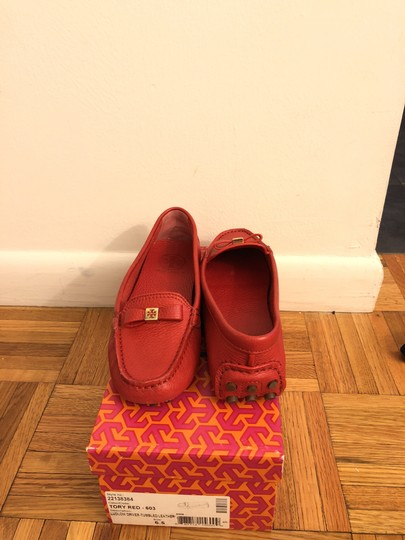 Tory Burch Red Flats Image 1
