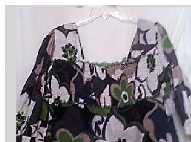 Other Top purple white/green/black Image 1