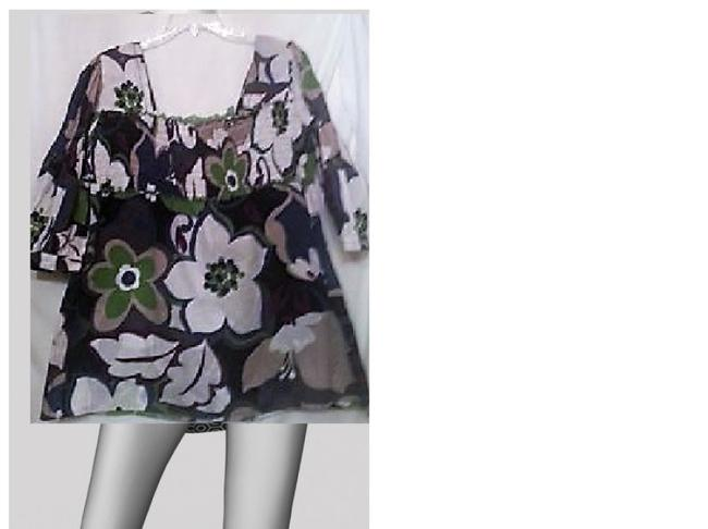 Other Top purple white/green/black Image 2